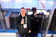 Peter Klema je hlásateľom na MS 2019 v hokeji.