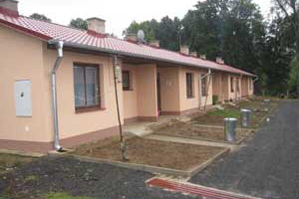 Náklady na výstavbu bytov nižšieho tandardu predstavovali sumu vyše 265-tisíc eur.