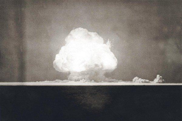 Prvý atomový hríb na svete.