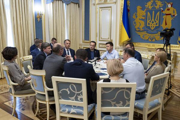 Zelenského administratívu na Ukrajine povedie Bohdan, generálny štáb Chomčak