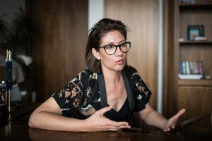 Lucia Ďuriš Nicholsonová (SaS).