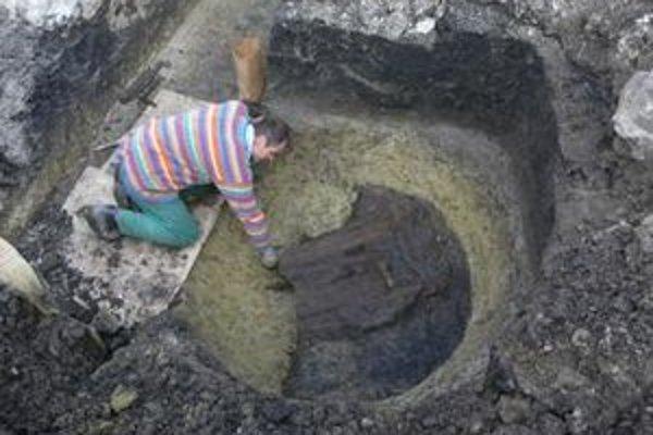 Na mieste bývalej tržnice v Rimavskej Sobote prebieha výskum pod vedením archeológa z Gemersko-malohontského múzea Alexandra Botoša.