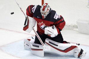 Kanadský brankár Matt Murray.