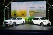 Škoda Citigo-e iV a Škoda Superb iV na bratislavskej premiére