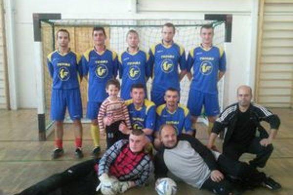 Mužstvo FC Thorma.