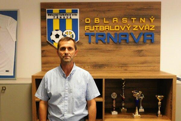 Marián Hafrovič, predseda ŠTK ObFZ Trnava