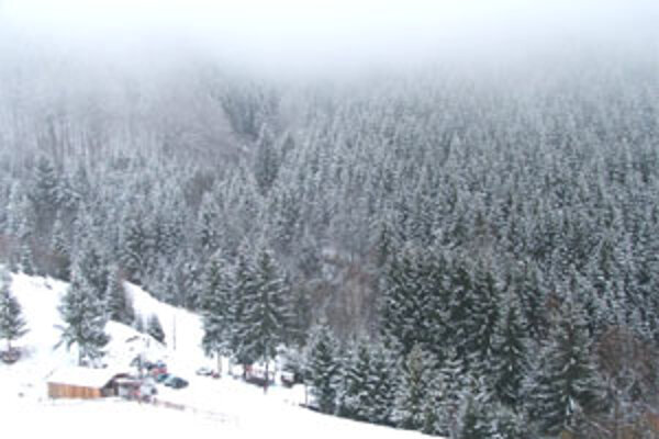 Svah lyžiarskeho strediska lákal najmä ľudí z Rimavskej Soboty, Poltára či Lučenca.