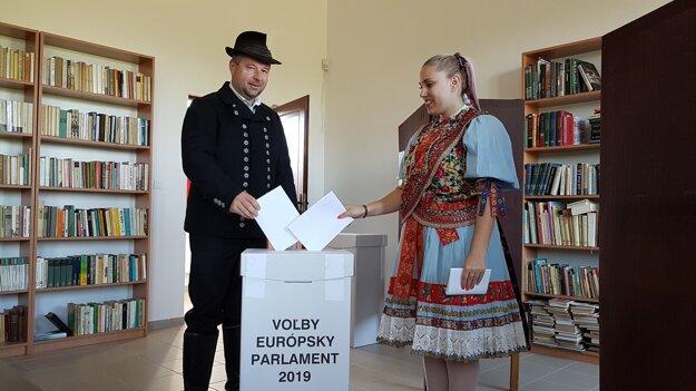 Volebná miestnosť vo Vyšných Hágoch.