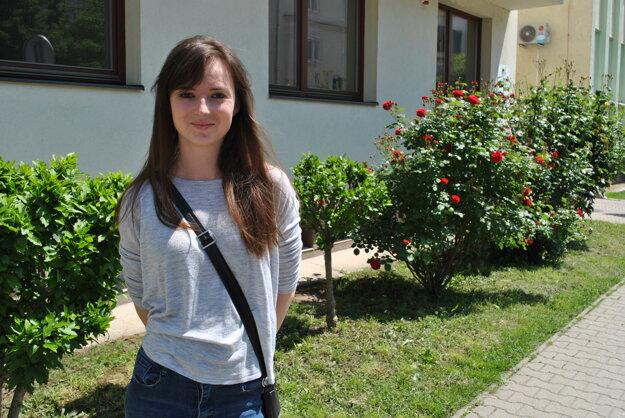Dominika Púčaťová.