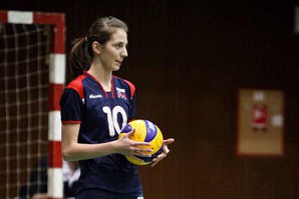 V septembri minulého roka debutovala Poltárčanka Štrbová v kadetskej reprezentácii.