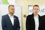 Košickí šéfovia víťazných strán Igor Petrovčik (Spolu) a Filip Gaál (PS) očakávali zisk dvoch poslancov.