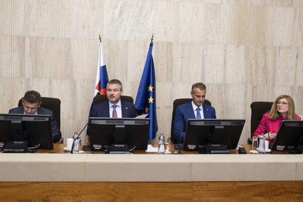 Rokovanie 158. schôdze vlády SR v Bratislave 29. mája 2019.
