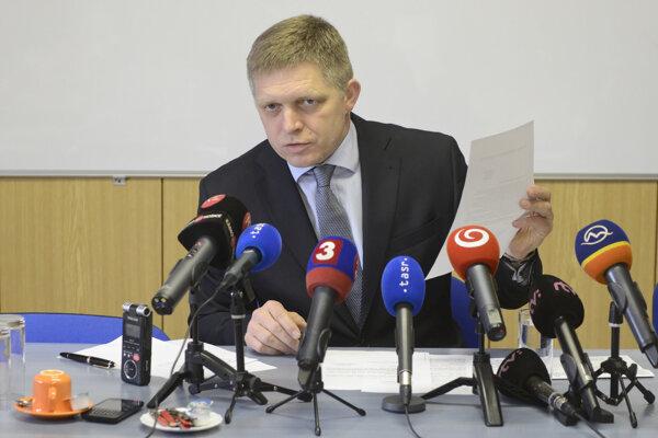 Premiér Robert Fico začiatkom februára zverejnil dokumenty z daňového úradu o Igorovi Matovičovi.