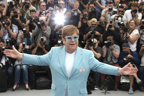 Elton John v Cannes.