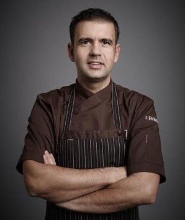 Šéfkuchár ocenenej reštaurácie Radek Kašpárek.