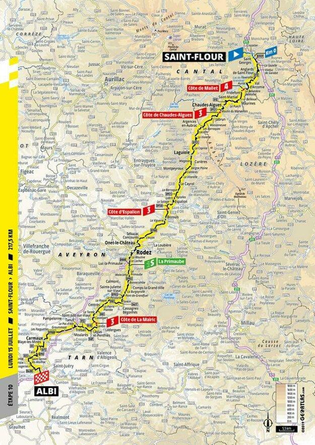 10. etapa Tour de France 2019.