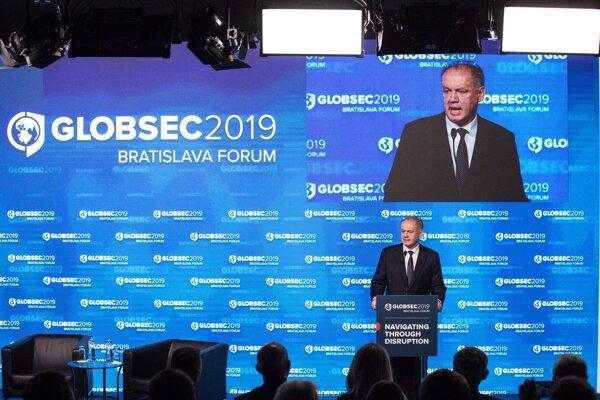 Prezident Andrej Kiska otvoril konferenciu Globsec.