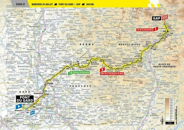 17. etapa Tour de France 2019.
