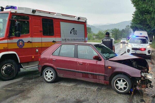 Na miesto nehody prišli všetky záchranárske zložky.