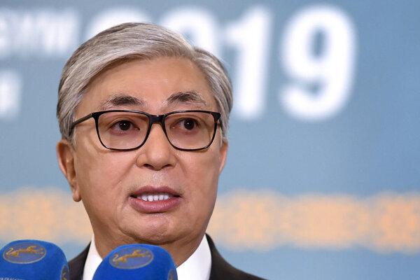 Kazašský prezident Kasym-Žomart Tokajev.