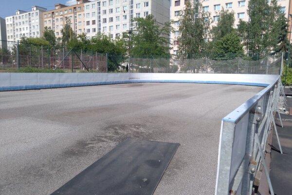Mobilná ľadová plocha už v Drocárovom parku nebude.