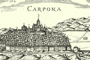 Krupina v 16. storočí.