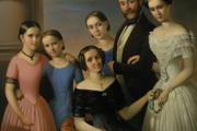 Karol Pálmai: Rodina kaviarnika Macháčka, 1852, Galéria mesta Bratislavy.