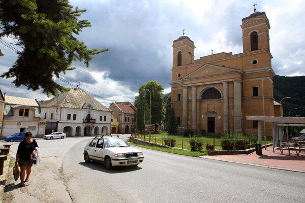 Centrum Jelšavy - ilustračné foto
