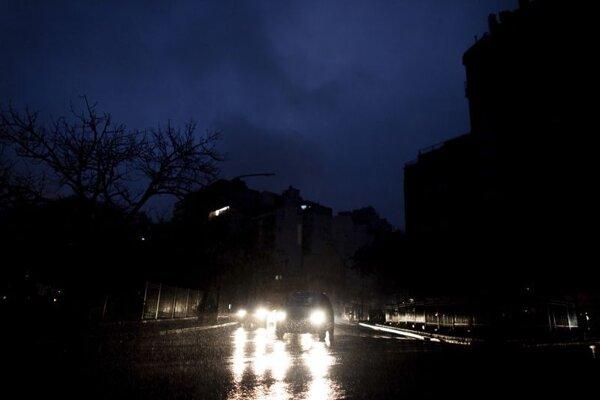 Blackout v Buenos Aires.