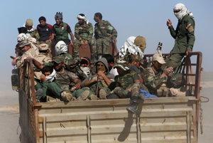 IS bráni civilistom v úteku z irackej Fallúdže, ktorú dobýjajú vládne sily