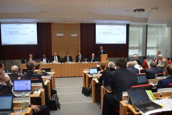 Júnové zasadnutie zastupiteľstva Prešovského samosprávneho kraja.