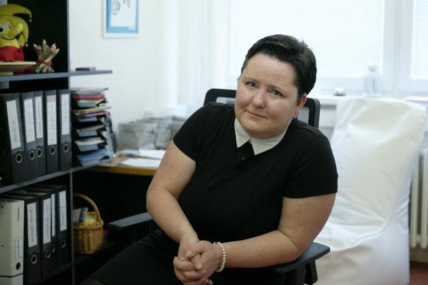 Aneta Chlebničanová, programová manažérka Nadácie pre deti Slovenska