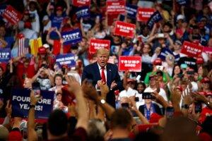 Trump odštartoval kampaň.
