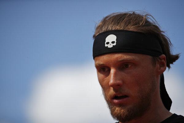 Jozef Kovalík na Roland Garros 2019 - ilustračná fotografia.