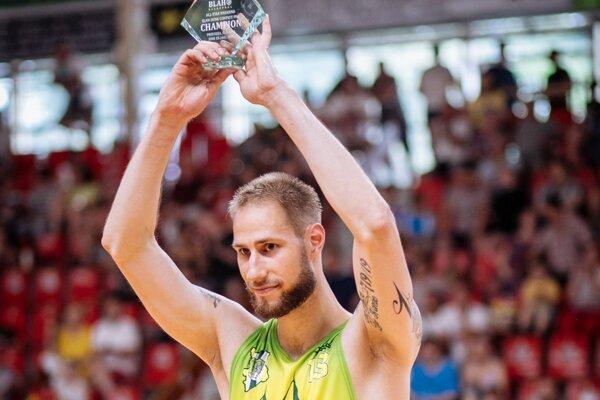 Nová posila Levíc Juríček sa stal najužitočnejším hráčom zápasu.