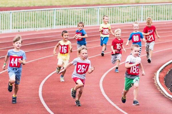 Diskokilometer je pre malé deti prvými pretekmi v živote.