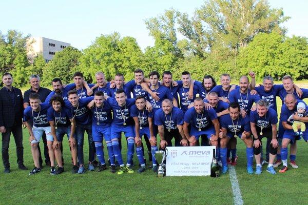 PFK Piešťany - víťaz 6. ligy MEVA SPORT v sezóne 2018/19