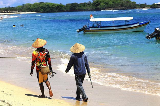 Bali ponúka turistom množstvo pláží.