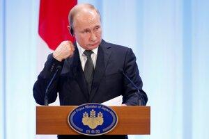 Vladimir Putin na summite G20.