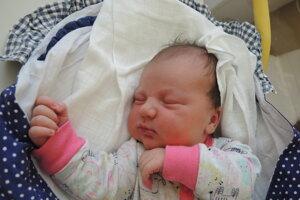 Melisa Predná (4440 g a 51 cm) sa narodila 11. júna  Tatiane a Adamovi z Prievidze.