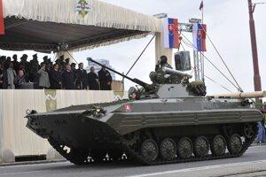 Vojenská prehliadka sa konala pri príležitosti 15. výročia vzniku Ozbrojených síl  21. septembra 2008 na Vajanského nábreží v Bratislave.