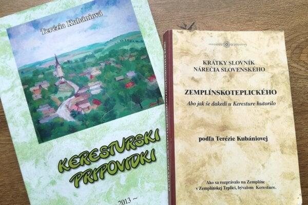 Slovník nárečia zo Zemplínskej Teplice a zbierka príbehov v tomto nárečí.