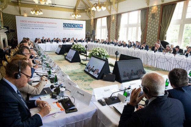 Zhromaždenie OBSE vo Vysokých Tatrách.