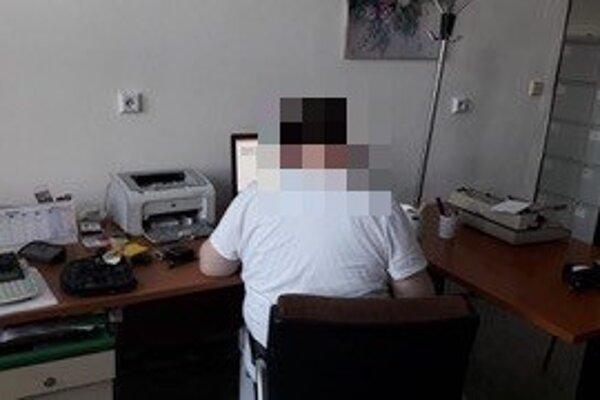 Polícia zverejnila ku kauze túto fotku lekára.