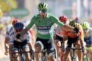 Peter Sagan po triumfe v 5. etape Tour de France 2019.