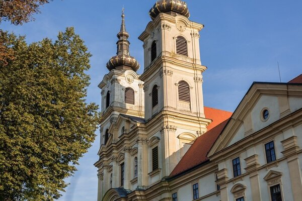 Bazilika v Šaštíne.