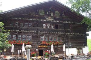 Horský hotel Ruedihaus.