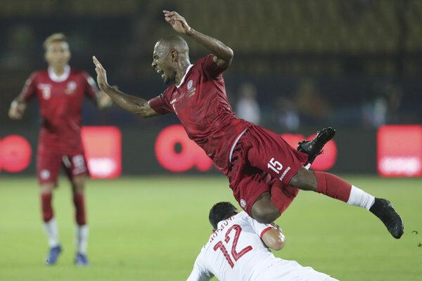 Zápas medzi Madagaskarom a Tuniskom.