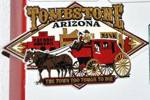 Tombstone, mesto zločinu na Divokom západe.