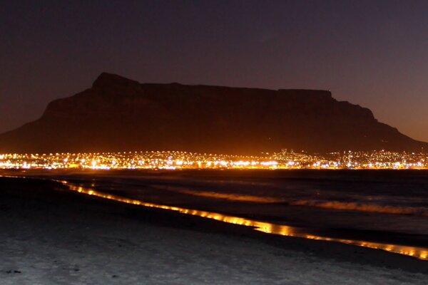 Kapské mesto.